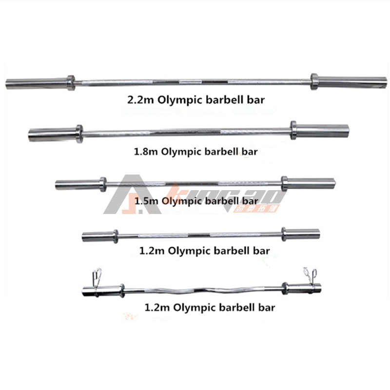 Fitness Weightlifting Barbell Bar